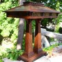 Bungalow Prairie Craftsman Double Pedestal Table Lamp