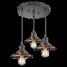 211/3 Railroad 3 Light Pendant Innovations