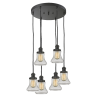 212/6 Bellmont 6 Light Pendant