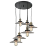 212/6 Halophane 6 Light Pendant Innovations