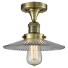 517 Halophane Flush Ceiling Mount